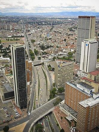 Torre Colpatria - Image: Bogotaview