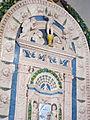 Bolsena, s. cristina, chiesa maggiore, int., ciborio di benedetto buglioni 05.JPG
