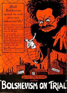 <i>Bolshevism on Trial</i> 1919 film by Harley Knoles