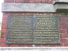 Bonhoeffer Attentat