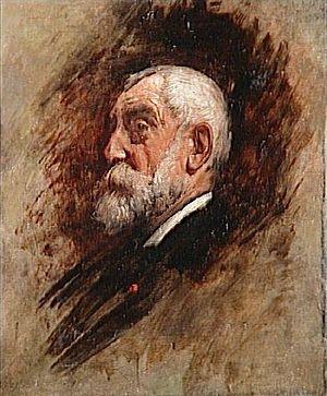 Henri Harpignies - Portrait of Harpignies by Léon Bonnat.