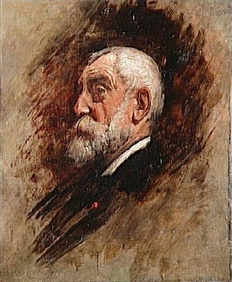 Henri Harpignies - Portrait of Harpignies by Léon Bonnat.