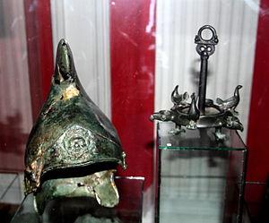 Zopyrion - One of 6 helmets discovered in Olanesti, Moldova, from  Zopyrion's army