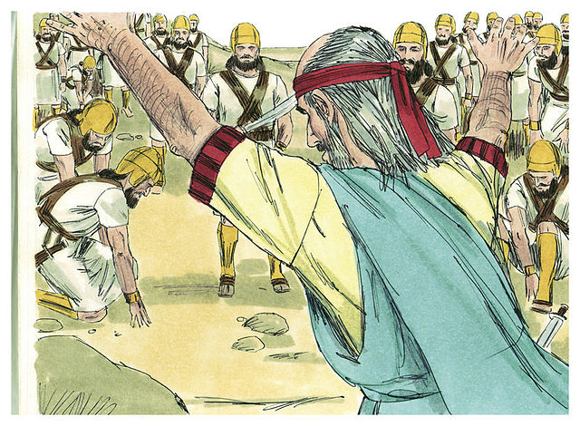 Ezekiel Chapter 37 http://commons.wikimedia.org/wiki/File:Book_of_Ezekiel_Chapter_37-4_(Bible_Illustrations_by_Sweet_Media).jpg