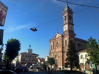 Bosconero Comune in Piedmont, Italy