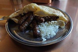 Ćevapi Dish from Southeast Europe