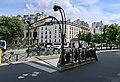 Bouche de métro Raspail, Paris 14e.jpg