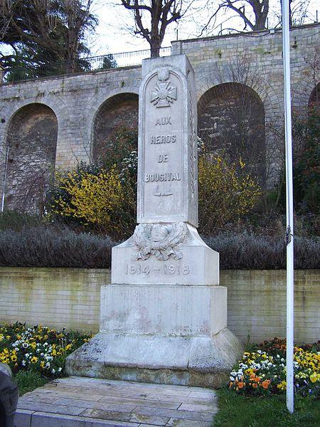 War memorial of Bougival (Yvelines, France)