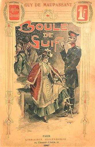 Boule de Suif - Front illustration of an edition of Boule de Suif.
