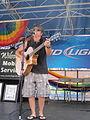 Bourbon St NOLA Pride 2010 guitarist.JPG