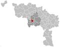 Boussu Hainaut Belgium Map.png