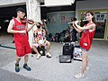 Boy, Dabao Lin and Lily Cao playing 20200704a.jpg
