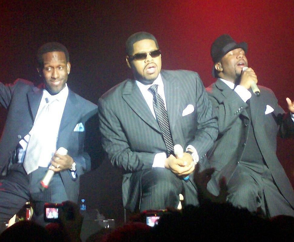 Boyz II Men - Live at Vega (cropped)
