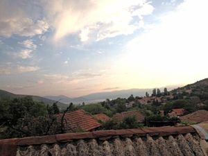 Brajčino - Brajčino with Lake Prespa in the distance