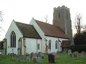Brandeston - Image: Brandeston Church of All Saints