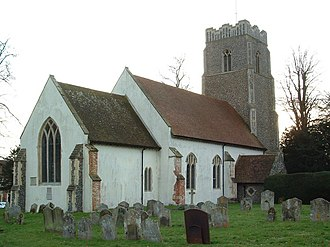 Church of All Saints, Brandeston - Image: Brandeston Church of All Saints
