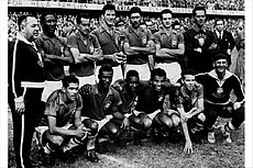 Brazil won its first World Cup in 1958 wearing Umbro kits 86cb1a62d