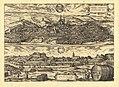 Braun & Hogenberg - Eisleben und Tübingen Kupferstich 1617.jpg
