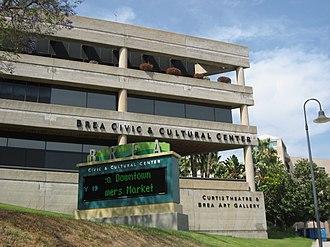 Brea, California - Image: Brea cityhall external