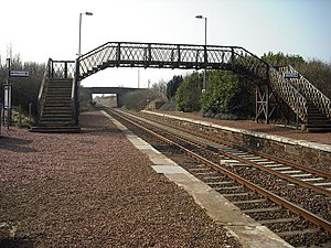 Shotts Line - Breich railway station.