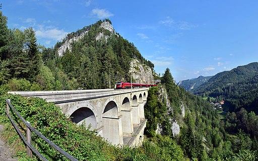 Breitenstein - Semmeringbahn - Krausel-Klause-Viadukt - 2