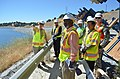 Brian Szydlik leads World Bank tour of Folsom Dam auxiliary spillway project (9096985260).jpg