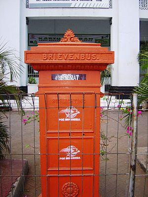Mailbox in Jakarta, Indonesia