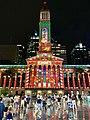 Brisbane City Hall light projection show 2018, 03.jpg