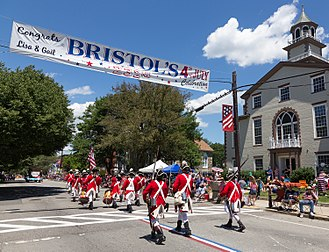 Bristol Fourth of July Parade - The 232nd parade in 2017