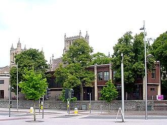 Bristol Cathedral Choir School - Image: Bristolcathedralscho ol