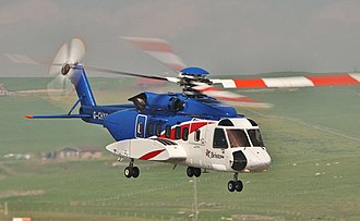 Sikorsky S-92 - A Sikorsky S-92 from Bristow Helicopters