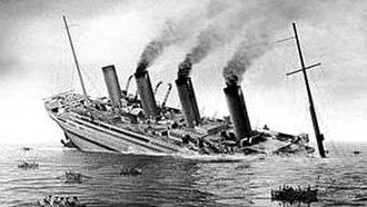 HMHS Britannic - HMHS Britannic sinking