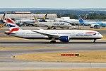 British Airways, G-ZBKC, Boeing 787-9 Dreamliner (42595956810).jpg