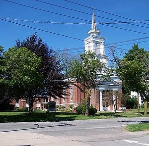 First Presbyterian Church (Brockport, New York) - First Presbyterian Church, July 2011