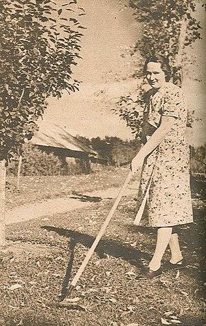 Irja Agnes Browallius - Irja Browallius in 1943.