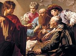 Hendrick ter Brugghen: Calling of Saint Matthew