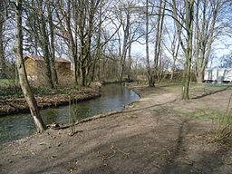 Brunnenbach bei Haunstetter Kleingartenanlage