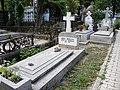 Bucuresti, Romania, Cimitirul Bellu Ortodox - Serban Voda (Mormantul actorului Marcel Anghelescu).JPG