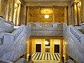 Bucuresti, Romania, Palatul Regal (Muzeul National de Arta al Romaniei - Pavilionul Sala Tronului - Scara Voievozilor, alta imagine); B-II-m-A-19856.JPG