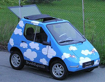 Buddy, electric car, developed by Elbil Norge ...