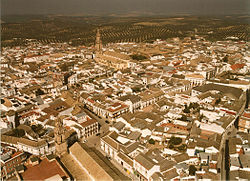 Bujalance from the air