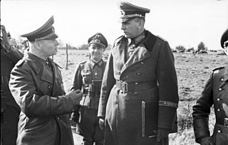 Erwin Menny German general and Knights Cross recipient