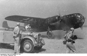 Bundesarchiv Bild 101III-Pachnike-041-24A, Flugzeug Dornier Do 217, PK-Filmberichter