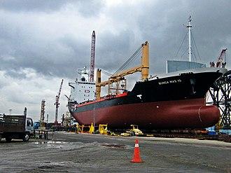 Malaysia Marine and Heavy Engineering - Bunga Mas 10 MMHE