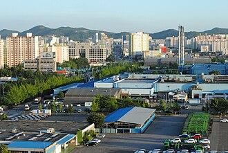 Bupyeong District - Image: Bupyeong gu Incheon Korea