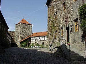 Fürsteneck Castle - Inner ward of the castle