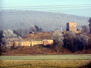 Wartenberg, Hesse - Wartenberg castle ruins (Dec. 2004)