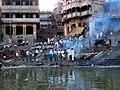 Burning ghat in Varanasi.JPG