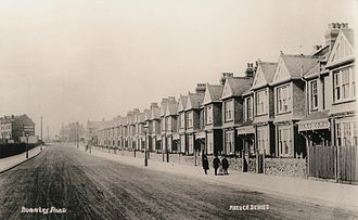 Dollis Hill - Burnley Road c. 1905