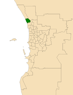 Electoral district of Burns Beach state electoral district of Western Australia